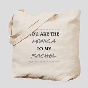 MONICA to RACHEL Tote Bag