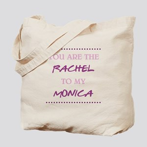 RACHEL to MONICA Tote Bag