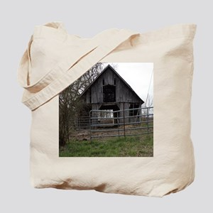 Old Weathered Farm Barn Tote Bag