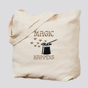 Magic Happens Tote Bag