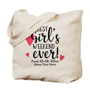75ec8a5ea5b4 Best Girl's Weekend Ever PD Tote Bag