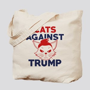 Cats Against Trump Tote Bag