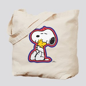 Peanuts Falir Snoopy and Woodstock Tote Bag