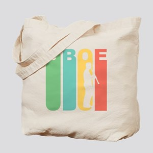 Retro Oboe Tote Bag