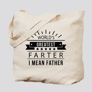 World's Greatest Farter Tote Bag