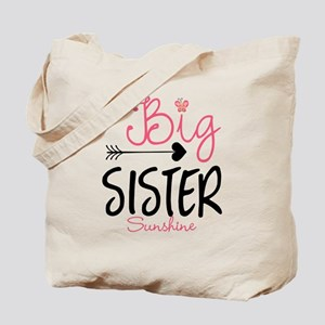 db8ef7c1 Big Sister Arrow Butterflyl Personalized Tote Bag