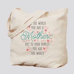 You Are The World Tote Bag