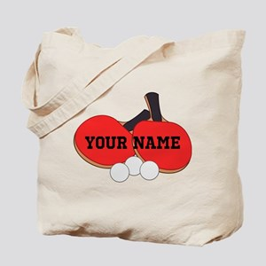 Personalized Table Tennis Ping Pong Tote Bag