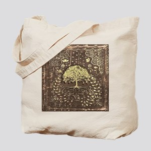 Tree of Life Fall Rustic Vintage Tote Bag