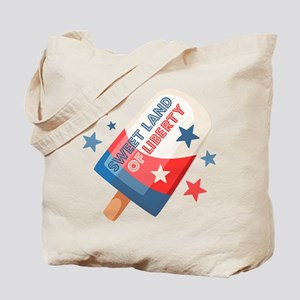 Ice Cream Pop 4th Tote Bag