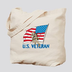 US Veteran Tote Bag