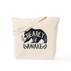 Bearly Awake Tote Bag