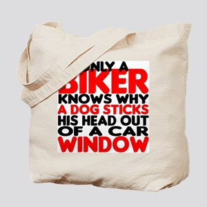 Only a Biker Tote Bag