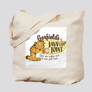 Java Joint Garfield Tote Bag