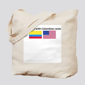 American with Colombian roots Tote Bag