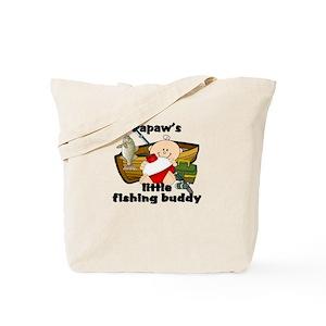 e610ece0627e Papaw's Fishing Buddy Tote Bag