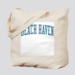 Beach Haven New Jersey NJ Blue Tote Bag