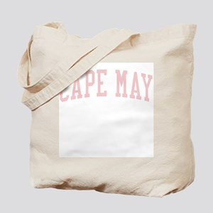 Cape May New Jersey NJ Pink Tote Bag