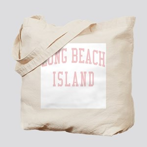 Long Beach Island New Jersey NJ Pink Tote Bag