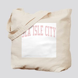 Sea Isle City New Jersey NJ Pink Tote Bag