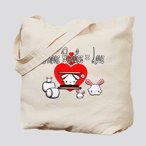 S'more Bunnies Tote Bag