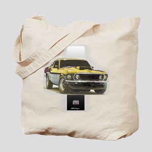 Mustang Boss 302 Tote Bag