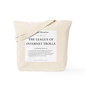 9d0610c22ede League of Internet Trolls Tote Bag