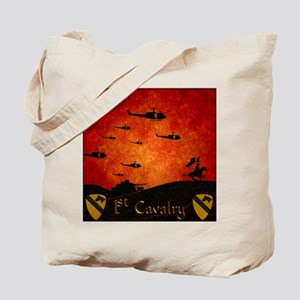 3d009daf8c Harvest Moons 1st Cavalry Past and Present Tote Ba