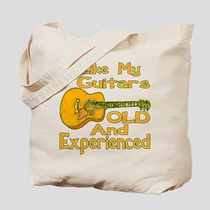 Old Guitar Tote Bag
