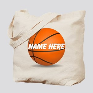2b9a8d745d011 Basketball Canvas Tote Bags - CafePress
