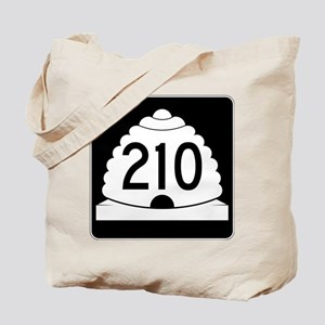 Powder Highway - Utah 210 Alta Snowbird Tote Bag