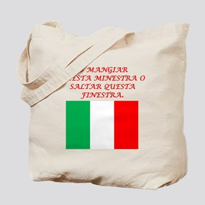 Italian Proverb Eat This Soup Tote Bag