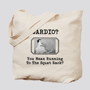 Overly Manly Man Cardio Tote Bag