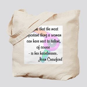 CUTE HAIR QUOTE Tote Bag
