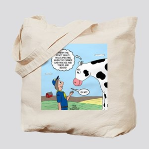Scout Meets Cow Tote Bag
