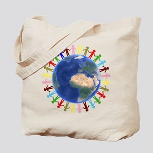 One Earth - One People Tote Bag