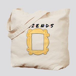 Friends Peephole Frame Tote Bag