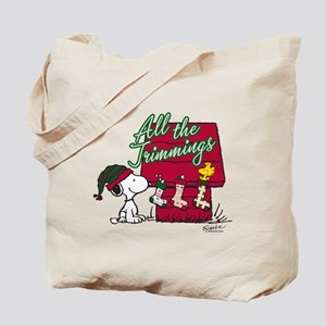 Snoopy: All the Trimmings Tote Bag