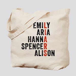 Pretty Little Liars TV Tote Bag