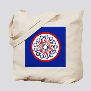 Circle of Stars and Stripes Tote Bag