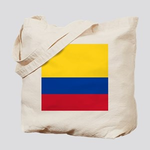national flag of colombia Tote Bag