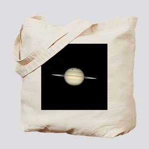 Saturn 4 Moons in Transit Tote Bag