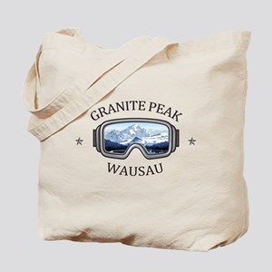Granite Peak - Wausau - Wisconsin Tote Bag