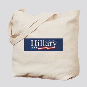 Hillary for President Poster Tote Bag
