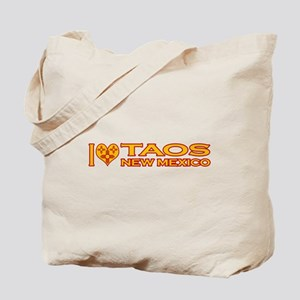 I Love Taos, NM Tote Bag