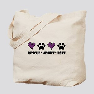 eb9d40117 Animal Rescue Canvas Tote Bags - CafePress