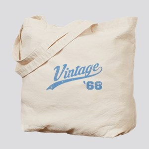 1968 Vintage Birthday Tote Bag