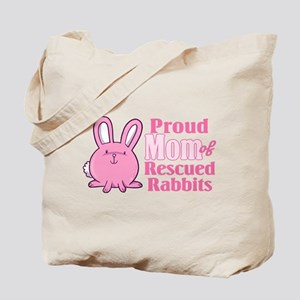 Rescued Rabbits Mom Tote Bag