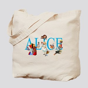 ALICE & FRIENDS IN WONDERLAND Tote Bag