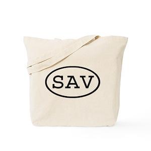 Sav On Bags >> Sav Oval Tote Bag